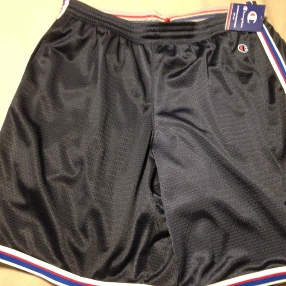 new design cheap price official site Champion Men Navy Blue Core Basketball Shorts XXL NWT